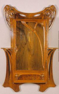Art Nouveau Wall Cabinet (Art Nouveau Wall Cabinet) design ...