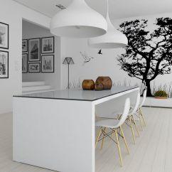 Black And White Kitchen Accessories 2 Tier Island Wall Decor