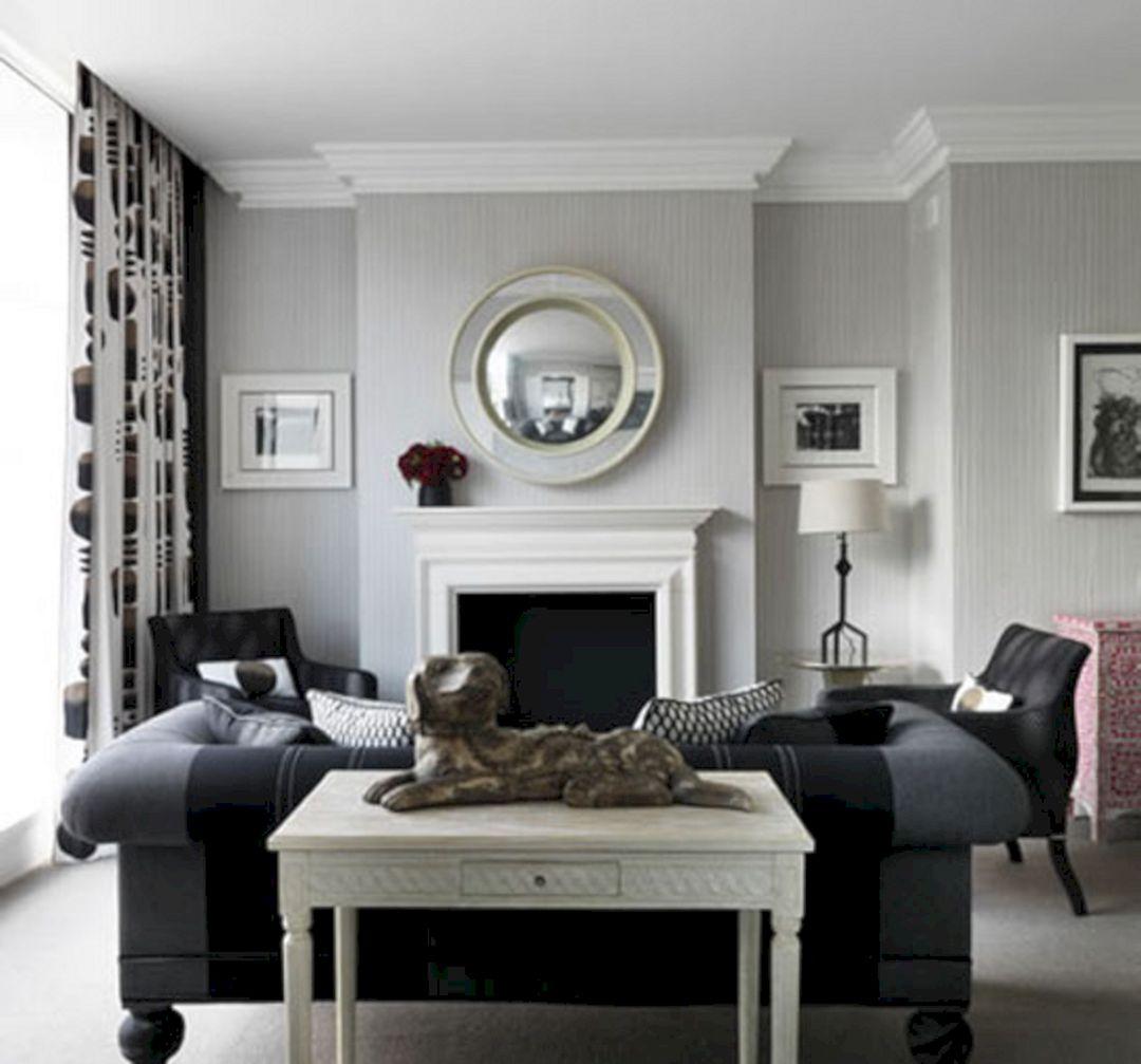Black And White Living Room Decor (Black And White Living