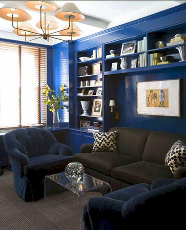45+ Best Beautiful Navy & Brown Living Room Ideas  FresHOUZ