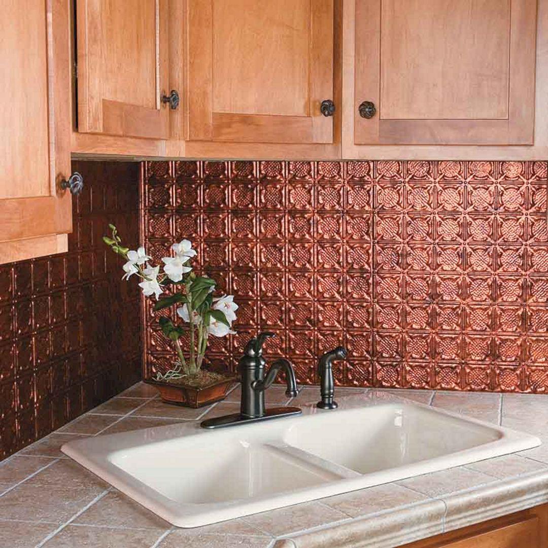 Copper Kitchen Backsplash Ideas (Copper Kitchen Backsplash