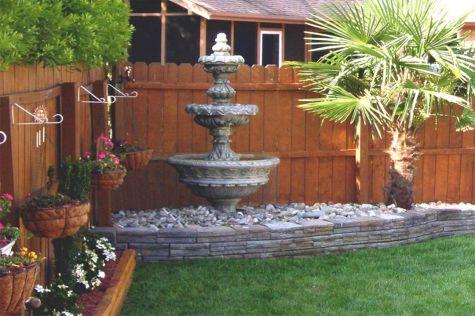 Garden Water Fountains Ideas