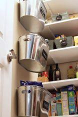 Hanging Pantry Storage Idea