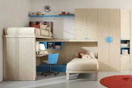 Kids Double Bed Bedroom Designs