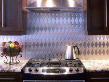 Kitchen Backsplash Metal Stainless Steel