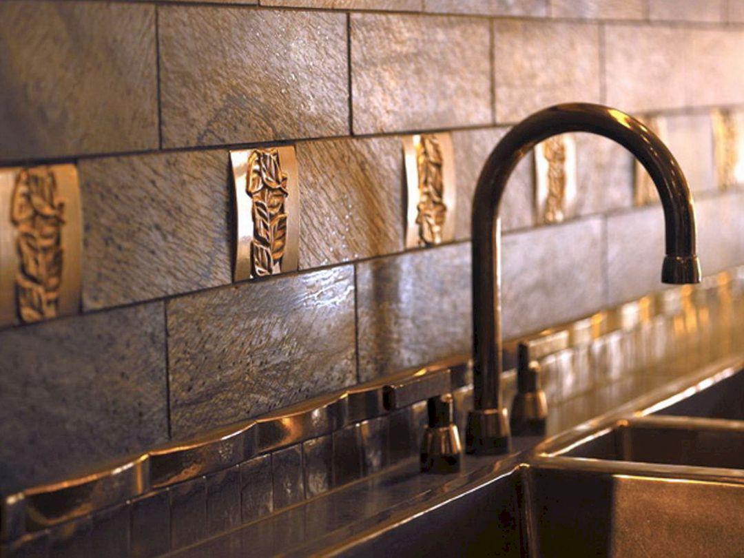 Kitchen Backsplash Tile Copper (Kitchen Backsplash Tile