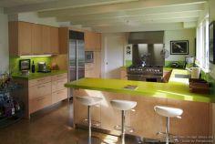 Kitchen Countertop Peninsula With Bar