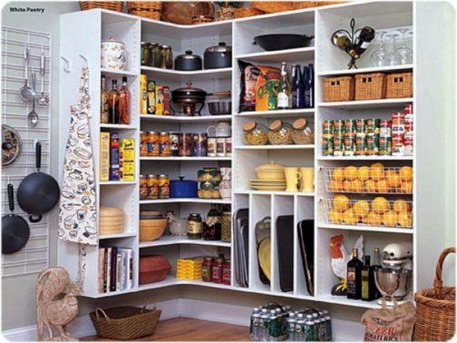 Kitchen Pantry Storage Design