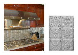Metal Kitchen Backsplash Ideas With Tile