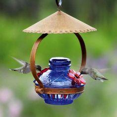 Shelter Hummingbird Feeder