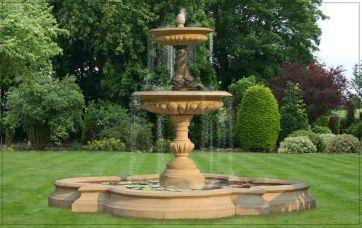 Stone Garden Water Fountains Outdoor
