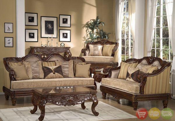 Traditional Formal Living Room Furniture Sets