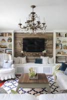 White Wood Fireplace Surround Ideas 11