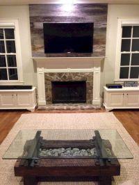 White Wood Fireplace Surround Ideas 3 (White Wood ...