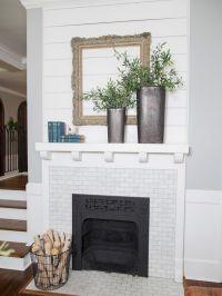 White Wood Fireplace Surround Ideas 7 (White Wood ...