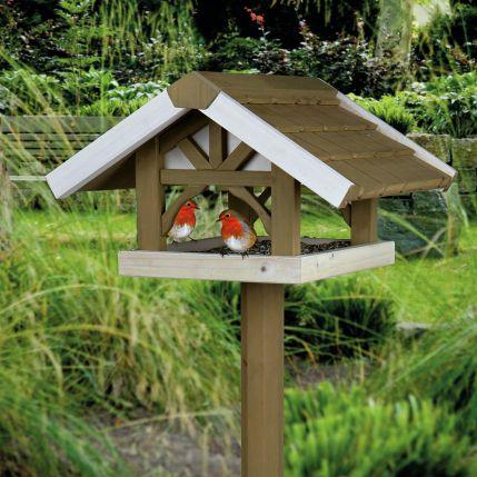 Wooden Bird Feeders Homemade