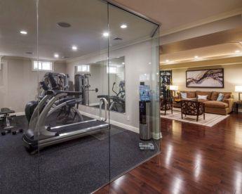 Basement Home Gym Designs