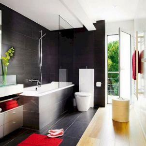 Black Bathroom Decorating Ideas