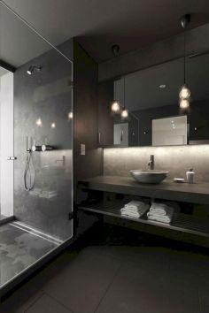 Black Bathroom Design Idea