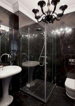 Black Marble Bathroom Designs