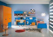 Blue And Orange Kids Room Ideas