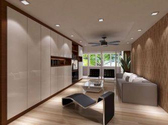 living condo room interior singapore wall storage minimalist rooms decor condos cabinets modern balcony inspiration concept rom space