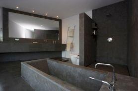 Contemporary Concrete Bathroom