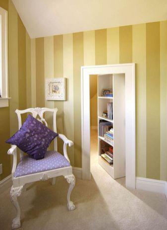 Hidden Bookcase Door Secret Room