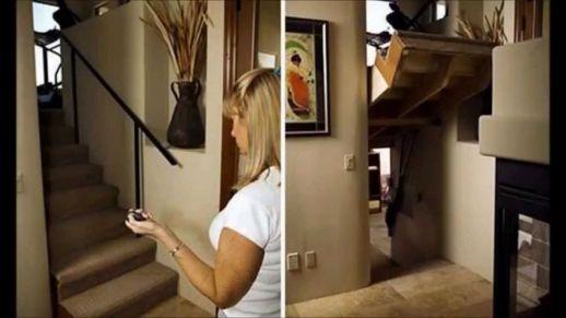 Hidden Room Door Design