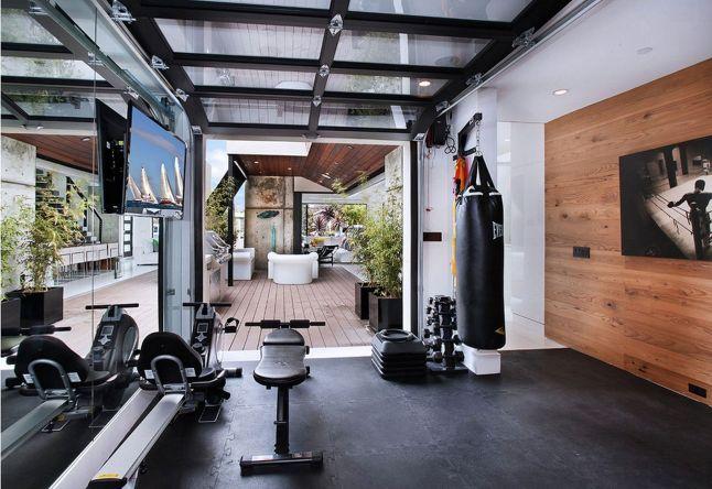 Home Garage Gym Design Ideas