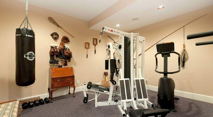 Homes Gym Design Idea