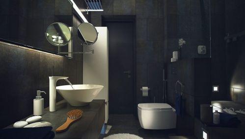 Industrial Loft Style Bathroom
