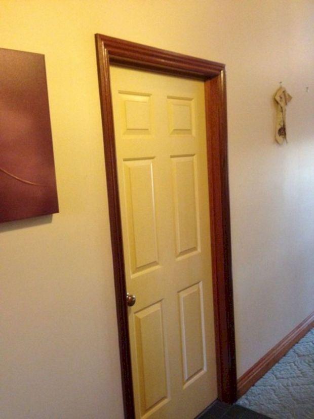 White Trim Wood Doors Home Design Ideas