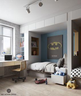 Kids Bedroom Decorating Idea
