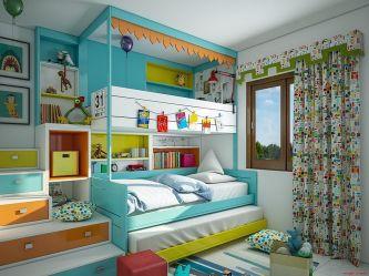 Kids Bedroom Ideas With Bunk Bed