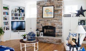 Lake House Living Rooms