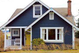 Navy Blue Exterior House Color Ideas