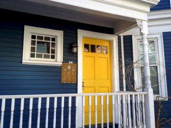 Navy Blue Exterior House Colors Ideas