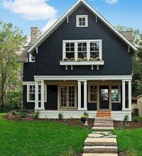 blue house exterior colour schemes navy blue exterior ...