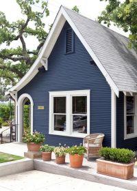 Blue Exterior Home Color Ideas