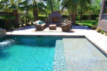 Outdoor Backyard Living Room Design Idea