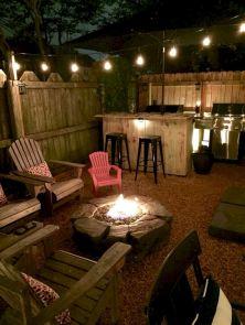 Outdoor Backyard Living Room Design Ideas