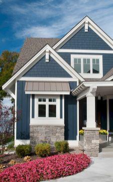 Rustic Exterior Home Paint Colors Idea