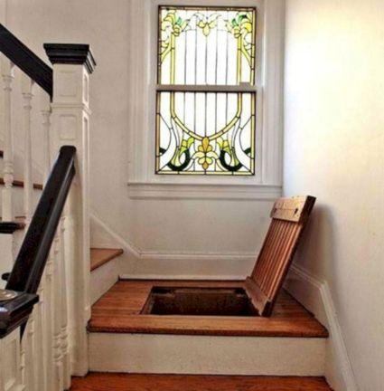 Secret Trap Door In Stairs