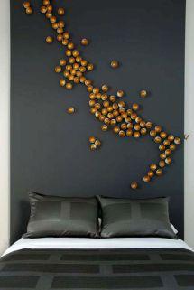 Unique Bedroom Wall Decorating Ideas