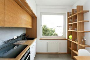 Wooden Kitchen Wall Shelves