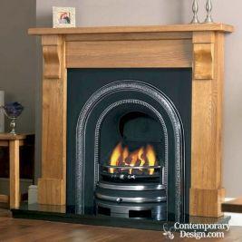 Beautiful Vintage Fireplaces