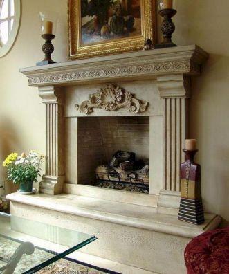Traditional Fireplace Mantels