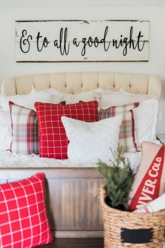 Awesome Christmas Bedroom Design 2