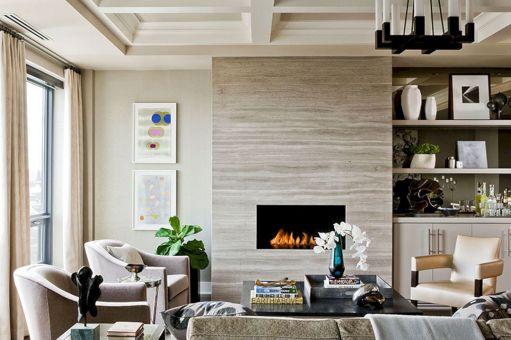 45+ Beautiful Contemporary Fireplace Design Ideas / FresHOUZ.com